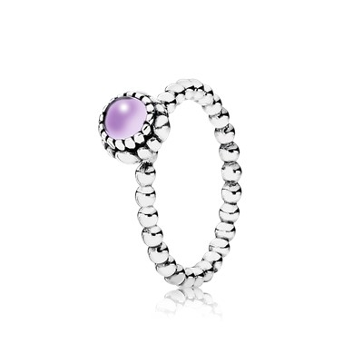 pandora birthstone rings