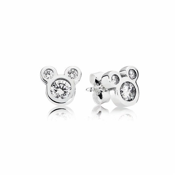 pandora stud earrings